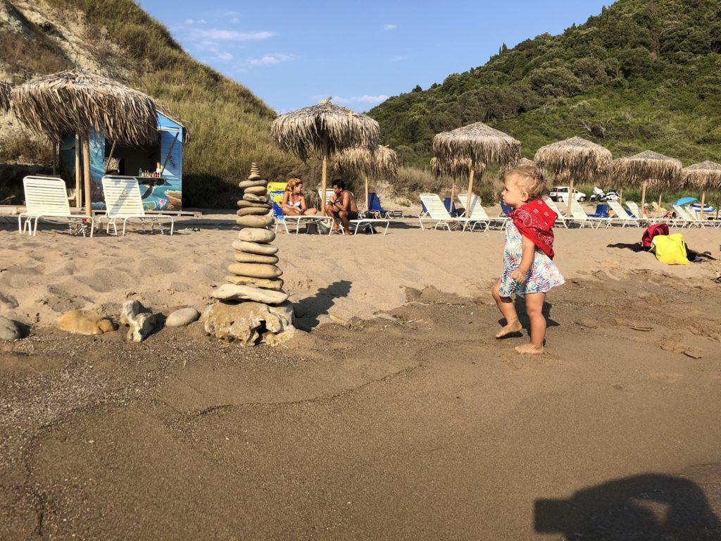 pláž korfu