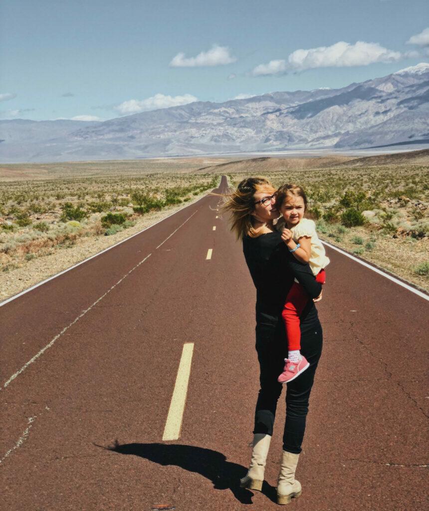 mama na cestach