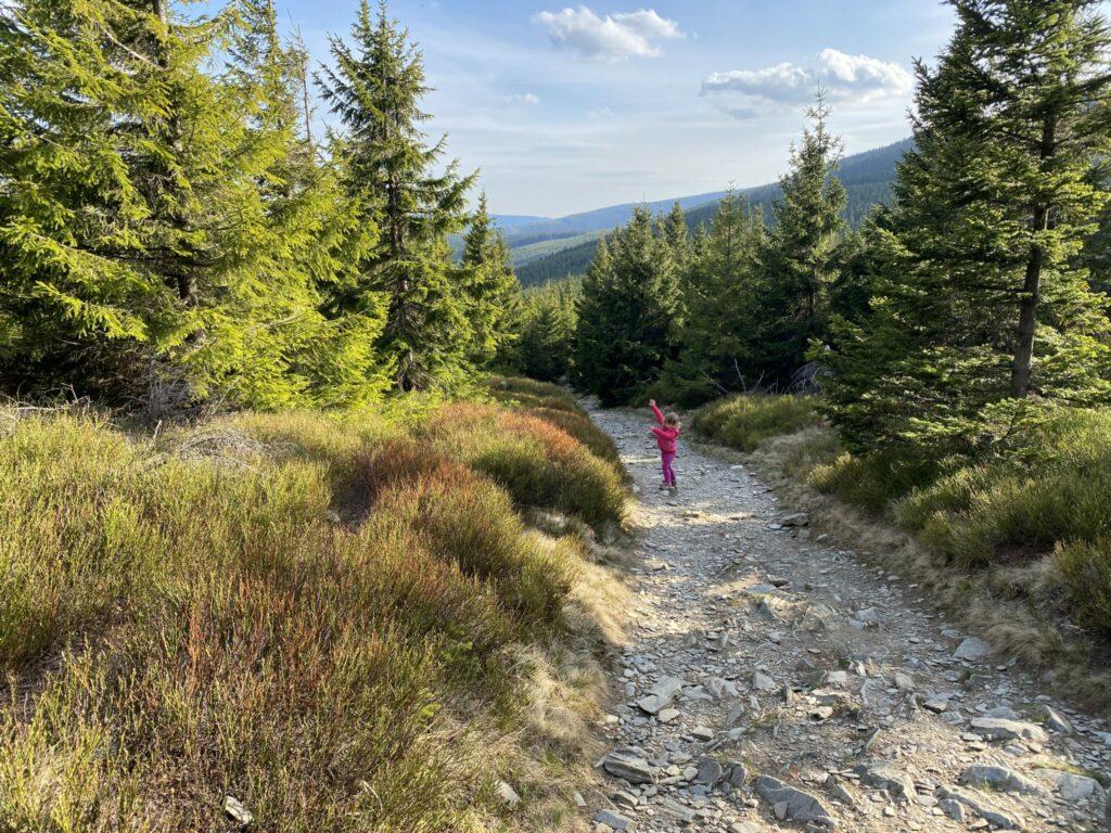 krkonoše výlety s dětmi horní malá úpa