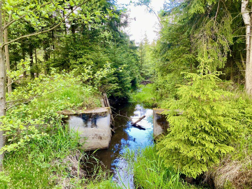 padrťské rybníky s kočárkem