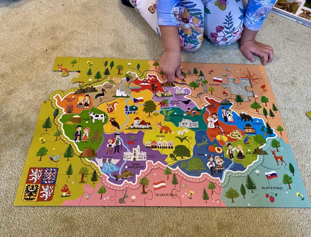 puzzle česká republika