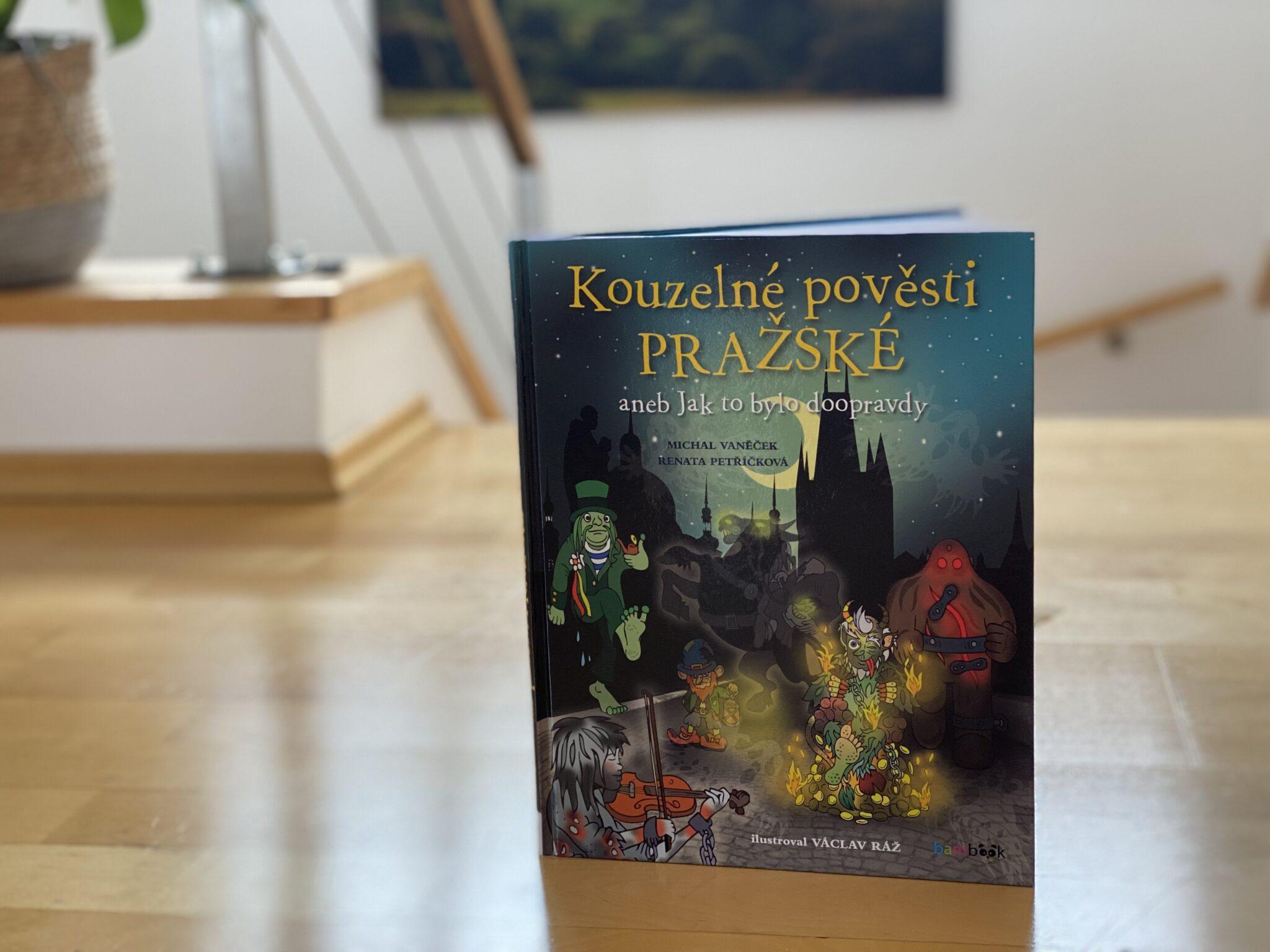 knihy o praze pro děti