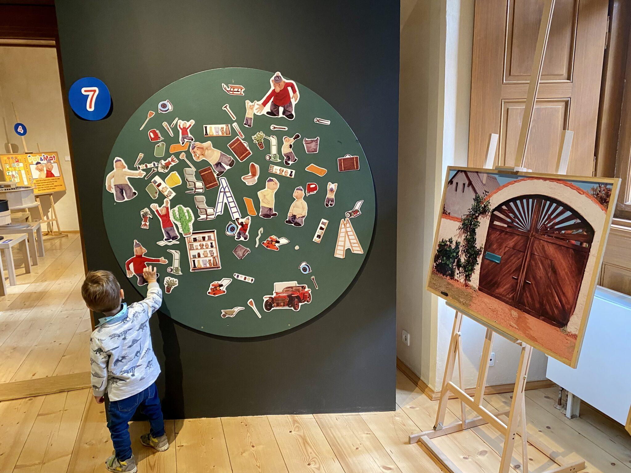 pat a mat výstava